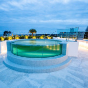 Soul Apartments 6 - architecture   building   architecture, building, estate, hotel, house, leisure, property, real estate, resort, resort town, sky, swimming pool, vacation, teal