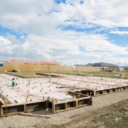 Ready Super Slab – Pour - architecture | architecture, house, land lot, roof, sky, sport venue, white