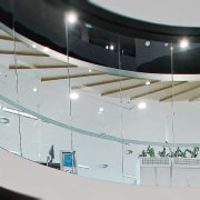 TA Bcorp Offices 3 - architecture | building architecture, building, ceiling, glass, interior design, gray