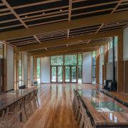 WINNER: Te Wharehou o WaikaremoanaTe Wharehou o Waikaremoana, architecture, ceiling, daylighting, interior design, lobby, real estate, wood, brown