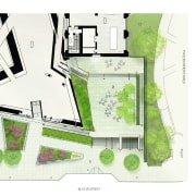 The ROM Welcome Project Site Plan showing the architecture, diagram, drawing, floor plan, house, land lot, plan, project, property, room, urban design, white