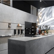 Trend 4 Moody Hues - architecture | countertop architecture, countertop, floor, flooring, interior design, kitchen, tile, gray, black