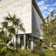 SAOTA designed the house with a monolithic protective