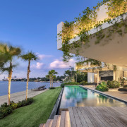Lapping up the scenery – this home offers
