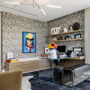 The wallpaper – XXL by Elitis from Jeffrey