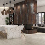 Universal Granite And Marbles Showroom - floor | floor, flooring, furniture, interior design, laminate flooring, living room, table, tile, wall, wood, wood flooring, gray