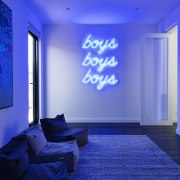 The home includes a rumpus room for the