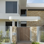 The home's emphasis on natural materials is evident