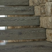 Wood and stone – materials you might almost