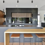 The owners had a modern country style in