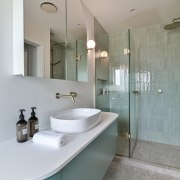 The ensuite is an elegant and tranquil space