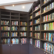 Anx View 49 - bookcase | bookselling | bookcase, bookselling, furniture, library, public library, shelf, shelving, black