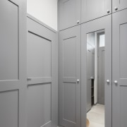 2nd floor panelled cabinetry in keeping with the