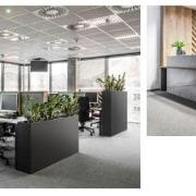 Architect: MetaformaPhotography by Krzysztof Strażyński desk, furniture, interior design, office, product design, white