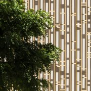 Palace of Justice building | Mecanoo + Ayesa branch, building, condominium, facade, tree, window, brown