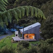 See the home here cottage, hill station, home, house, hut, landscape, tree, black