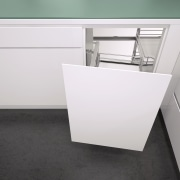 Vauth Sagel's VS COR Fold Unit for Blind desk, floor, furniture, product, product design, table, tap, white, black