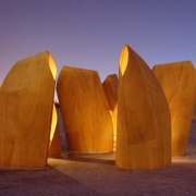 Architect: Patkau ArchitectsPhotography by James Dow sky, wood, brown, purple