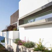 Spanish coastline views - Outdoor view - apartment apartment, architecture, building, condominium, elevation, estate, facade, home, house, property, real estate, residential area, villa, window, gray, white
