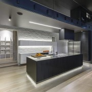 The brief for this kitchen was simplicity and interior design, kitchen, gray, black