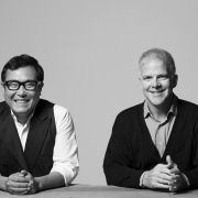 Tsao & McKown - Tsao & McKown - black and white, communication, conversation, gentleman, glasses, photograph, photography, professional, vision care, gray, black