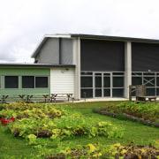 Te Kura Kaupapa Maori O Whangaroa, a Maori cottage, facade, farmhouse, home, house, land lot, landscape, property, real estate, siding, white