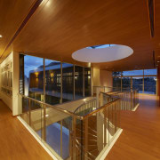 B House 02 - architecture | ceiling | architecture, ceiling, daylighting, floor, flooring, house, interior design, real estate, wood, brown
