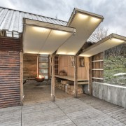Photo: Pasi Aalto / pasiaalto - Hinged panels home, house, property, real estate, roof, gray, brown