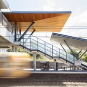 Cheltenham Station – Cox Architecture - Cheltenham Station architecture, building, daylighting, metropolitan area, mixed use, structure, white