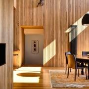 Architect: David Vernon ArchitectPhotography by Derek Swalwell architecture, ceiling, interior design, wall, wood, orange, brown