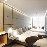Hotel Ease Access - Hotel Ease Access - bedroom, ceiling, interior design, real estate, room, suite, gray