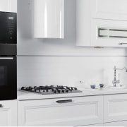 A frameless Midea microwave from global distributor Midea countertop, home appliance, kitchen, kitchen appliance, kitchen stove, major appliance, microwave oven, oven, product, refrigerator, small appliance, white, gray
