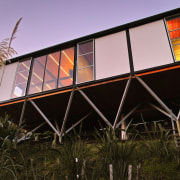 Pippin Wright-Stow of F3 Design for Lyttelton Landing architecture, building, facade, home, house, sky, structure, black