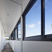 Architect: Ryall & Smith ArchitectsPhotography by John architecture, daylighting, facade, glass, house, window, gray