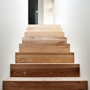 Architect: Steffen Welsch ArchitectsPhotography: Rhiannon Slatter floor, flooring, hardwood, laminate flooring, product design, stairs, wall, wood, wood flooring, wood stain, white, brown