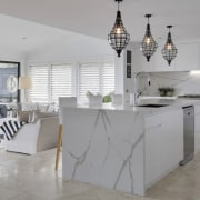 Smartstone architecture, countertop, floor, flooring, furniture, interior design, kitchen, product design, table, gray