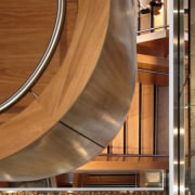 icare – dwp | design worldwide partnership - architecture, floor, flooring, interior design, stairs, wood, brown