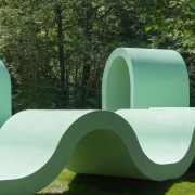 Designed by SPORTS chair, furniture, grass, lawn, outdoor furniture, product design, sunlounger, table, green