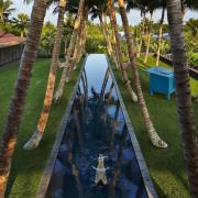 Architect: Olson KundigPhotography by Benjamin Benschneider arecales, leisure, palm tree, plant, reflection, resort, tree, water, brown