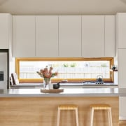 Architect: Irons McDuff ArchitecturePhotography by Nikole Ramsay cabinetry, countertop, interior design, kitchen, gray