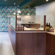 Wholesome Cuts Butcher Shop - Wholesome Cuts Butcher architecture, ceiling, countertop, floor, flooring, furniture, interior design, kitchen, lobby, gray