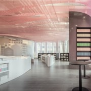 A new take on the bookstore - A architecture, ceiling, interior design, product design, gray