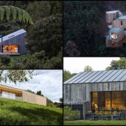Our very best forest homes. - Our very architecture, cottage, home, house, hut, property, real estate, roof, shed, black, brown