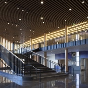 Bruce C. Bolling Municipal Building architecture, building, ceiling, daylighting, lobby, structure, black