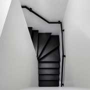 View the home angle, black and white, monochrome, monochrome photography, product design, stairs, structure, gray