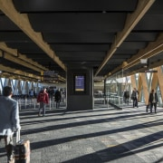 Wellington Architecture Awards architecture, building, metropolitan area, public transport, structure, train station, transport, black