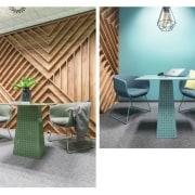 Architect: MetaformaPhotography by Krzysztof Strażyński chair, floor, furniture, interior design, outdoor furniture, product, product design, table, wicker, white