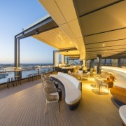 161 Sussex St – Cox Architecture - 161 apartment, boat, deck, interior design, luxury yacht, penthouse apartment, real estate, yacht, brown