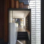 Architect: Austin Maynard ArchitectsPhotography by Peter Bennetts architecture, interior design, black, white