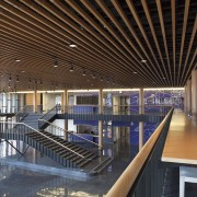 Bruce C. Bolling Municipal Building - Bruce C. architecture, ceiling, daylighting, interior design, lobby, brown